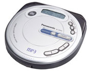 оптом CD+MP3 плеер Panasonic SL-MP50